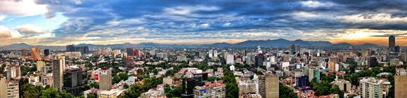 Photo of Mexico City landscape