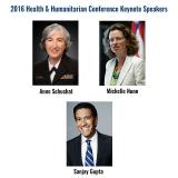2016 Health & Humanitarian Conference (HHL) Keynote Speakers