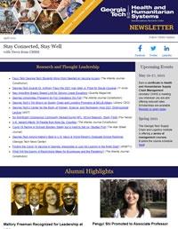 Winter/Spring 2021 newsletter