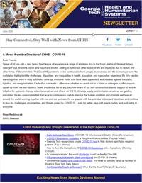 Winter/Spring 2020 newsletter