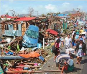 Debris Haiyan