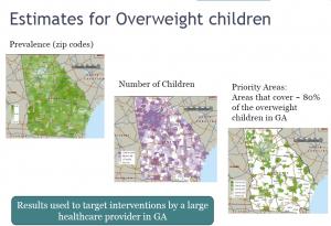 CDC slide- Est. overwieght Childen