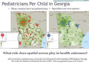 CDC slide- pediatricians GA