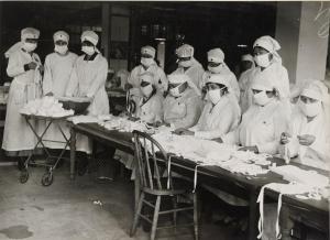 1918-19 Spanish flu Red Cross