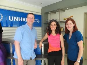 2013 HHl Conference- Julie, Pinar, Jarrod