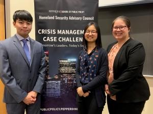 Presenter Team Homeland Security Challenge